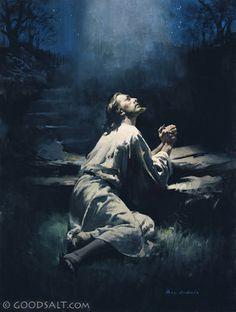 John 17: Jesus in prayer