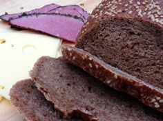 A good bread that gets along well with cheeses and corned beef or pastrami.  I started with a recipe from King Arthur Flour web site and made many changes over time.  It now bears little resemblance to the original recipe.