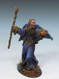 Male Mage - Visions in Fantasy - Miniature Lines