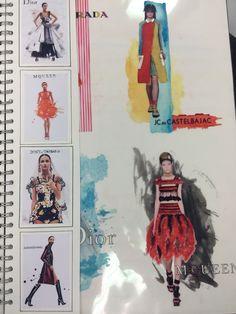 2nd year illustration development Yasmin Curry
