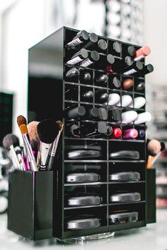 Amazoncom Makeup Organizer Compact Powder Holder 8 Slot
