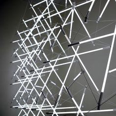 Tensegrity Space Frame Lights by Michal Maciej Bartosik - Design Milk