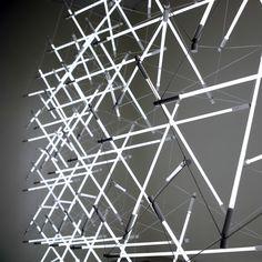 Tensegrity Space Frame Lights by Michal Maciej Bartosik - Design Milk
