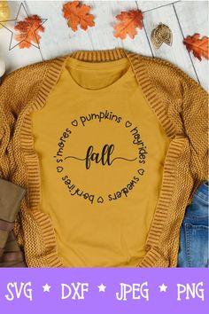 Hayrides Pumpkins Bonfires Sweaters SVG - Fall SVG - Autumn SVG A perfect addition to your fall wardrobe. A perfect addition to your fall wardrobe. Fall Shirts, Cut Shirts, Cricut Ideas, Cricut Craft, Thanksgiving Baby Outfits, Fall Words, Cute Shirt Designs, Cute Cuts, Cricut Creations