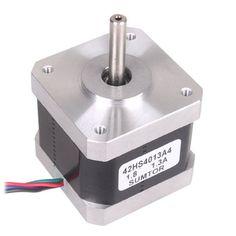 Nextrox 57oz-in 1Nm Moteurs pour imprimante 3D NEMA 17 Moteur 1.3A 40mm pour CNC routeur or moulin