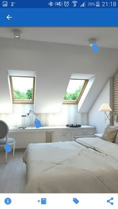 attic renovation home improvements Attic Living Rooms, Attic Bedrooms, Attic Spaces, Attic Renovation, Attic Remodel, Bedroom Wall, Master Bedroom, Bedroom Decor, Master Suite