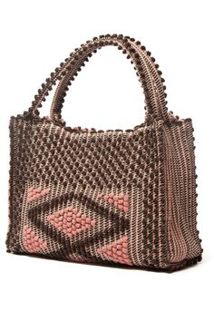 Monte Santu tote by Antonello. Handcrafted by Italian artisans from 100% recycled cotton.