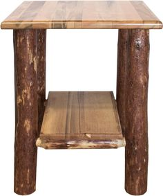 online shopping for Montana Woodworks MWGCNS Glacier Country Collection Nightstand/End Table Shelf from top store. See new offer for Montana Woodworks MWGCNS Glacier Country Collection Nightstand/End Table Shelf Table Shelves, Table Storage, Rustic Furniture, Living Room Furniture, Barrel Sink, Round Accent Table, Pink Home Decor, Loveseat Sofa, Rustic Elegance