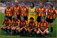 1989 KV Mechelen (football) Koen Sanders, Piet den Boer, Johnny Bosman, Michel Preud'homme, Graeme Rutjes, Erwin Koeman Bruno Versavel, Lei Clijsters (c), Wim Hofkens, Pascal De Wilde, Marc Emmers coach: Aad De Mos