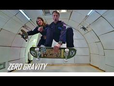 """Pro skaters Tony Hawk and Aaron """"Jaws"""" Homoki attempt to pull off some weightless tricks in Zero Gravity. All content captured through the lenses of Sony . Tony Hawk Skateboard, Skate Ramp, Skate 3, Picture Fails, Picture Video, Epic Fail Photos, Fail Pictures, Defying Gravity, Anti Gravity"""