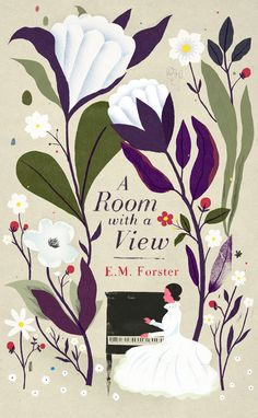Room With a View Written by E. Forster Cover illustration by Chris Silas Neal Book Cover Art, Book Cover Design, Book Art, Planet Decor, I Love Books, My Books, Reading Books, Illustrations, Illustration Art
