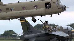 CH-47F Chinook Sling Load A-7K Corsair II