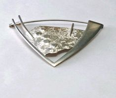 Fred Zweig Sterling Pin