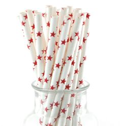 Shop Stylish Party Tableware and Supplies with Next Day Delivery. Retro paper straws Each pack includes 25 sturdy paper straws Beautiful quality - FDA approved and biodegradable Star Theme Party, Circus Theme Party, Party Themes, Magic Party, Red Party, Twinkle Twinkle Little Star, Paper Straws, Party Shop, Party Tableware