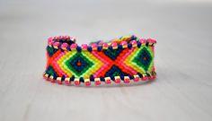 Color Pop Friendship Bracelet- Neon Rainbow