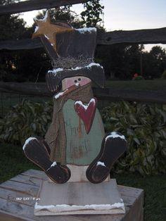 this snowman is soo CuTe!