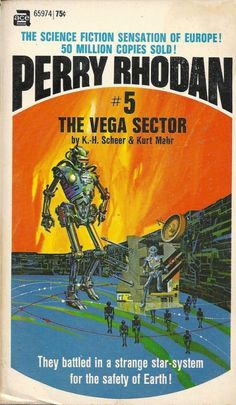 dreamingofy2k:1970. ACE edition of Perry Rhodan #5: The...