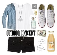 """Outdoor Summer Concert"" by inbaileymind ❤ liked on Polyvore"