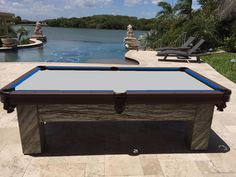 Ru0026R Outdoors, Also Known As All Weather Billiards And Games   Waterproof  Outdoor Pool Tables Made In The U. Since Build Your Custom Pool Table.