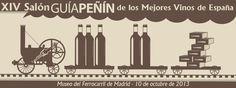 XIV Salón Guía Peñín de los Mejores vinos de España . 10 octubre 2013  Más info: http://www.guiapenin.com/noticias/309-guia-penin-convoca-el-xiv-salon-de-los-mejores-vinos-de-espana.html