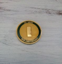 """#US #Military #Army #Officer #Rank #2nd #Lieutenant """"O -1"""" #Collectible #forsale #Ebay #selling #Deal #ChallengeCoin #Coin #armedforces #gift #token #patriotic"""
