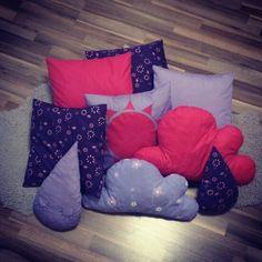 DIY pillows for little girl room