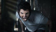 Derek morphs into a werewolf when confronted by Scott.  Photo by MTV