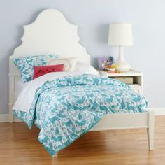 bed for reba from the land of nod, part of the crate and barrel family of stores. too cute!