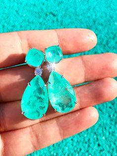 """1 Strand Cultured Sea Glass Pebble Perles 6-9 mm percé-V Light Aqua 8/""""//20 cm"""