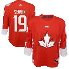 Tyler Seguin Canada Hockey adidas Youth World Cup of Hockey 2016 Replica Player Jersey - Red - $69.99