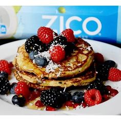 Break out the skillet! Pancake party success thanks to our friend Foodcapades who created this a-mazing recipe made with ZICO Natural Coconut Water. Ingredients: ½ cup coconut flour, 1 teaspoon baking...