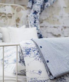 Blue & White Linens
