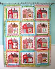 Quilty Barn Along with Lori Holt - I definitely want to make a barn quilt!