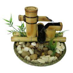 fonte de água de bambu 1