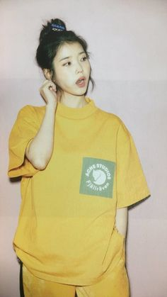 """Top 10 Sexiest Outfits Of IU - These sweaters of hers that outline her perfect figure.Latest KPop News for all KPop fans! Cr: on photo - admin derek""""Hottest and Sex Iu Fashion, Korean Fashion, Kpop Girl Groups, Kpop Girls, Kim Chungha, Korean Celebrities, Korean Actresses, Korean Artist, I Love Girls"""