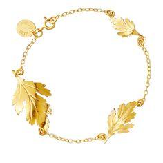 Chrysanthemum #gold leaf #bracelet. http://www.astleyclarke.com/uk/18-carat-yellow-gold-vermeil-chrysanthemum-leaf-bracelet-p30536?utm_source=affiliates_medium=linkshare_campaign=generic=7r.uErWZhfA-ZOLJjjms7cqKcM4kouMmfw#