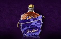 Camo Bag~In September 2010,Crown Royal teamed up with nonprofit Operation Troop Aid to dispatch 10,000 of the specially designed bags to legal-drinking-age troops on overseas deployment,including Afghanistan and Iraq.Volunteers across the country stuffed the bags with personal care items,snacks and phone cards.