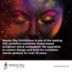Beauty Sky, The World's Leading Exhibition Organizer. http://beautisky.com/ #ExhibitionStandDesigner #ExhibitionStandContractor