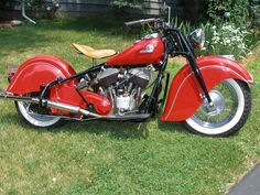 This is a customer of mine's Indian Motorcycle. Just too stunning not to share
