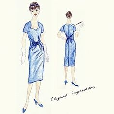 Elsa Dress Free Pattern - BurdaStyle Sz. 36 (If you do a search there is also a Sz.42 Pattern)