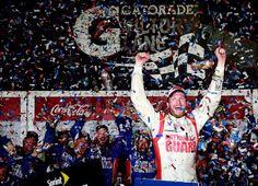 Junior back To victory lane at Daytona 500. Sweet !