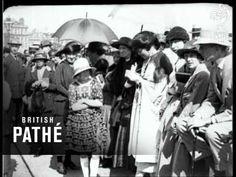 #Scarborough, North Yorkshire - Seaside Fashions (1922) #British_Pathe #Yorkshire