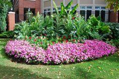 Zanimljiva dvorišta: predlog za baštu sa rondelom za divljenje