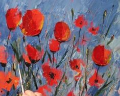Expert artist Tim Fisher shows you how to paint flowers in this step by step acrylic painting video. This demo includes poppies, magnolias & wild roses.