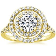 This ring is the embodiment of glamour!