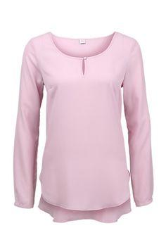 Vokuhila Crêpe-Bluse von s.Oliver. Entdecken Sie jetzt topaktuelle Mode für Damen, Herren und Kinder online und bestellen Sie versandkostenfrei.