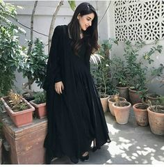 : Georgette Inner :- Silk Fully Stitched up to xxl size 👸**PALZO** Fabric: Santoon 2 meter Unstich 🧜♀**Dupatta** :- Georgette with Fancy Pom Pom lace Stitching Type :Stitched Occasion : Casual Price:- Pakistani Dresses Casual, Pakistani Dress Design, Casual Dresses, Fashion Dresses, Casual Wear, Black Pakistani Dress, Emo Fashion, Formal Wear, Trendy Fashion