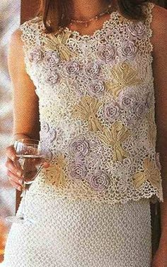 Irish crochet &: Irish lace