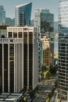 Fairmont Hotel, Vancouver, Skyscraper, Multi Story Building, City, Room, Skyscrapers, Rooms, Bedroom