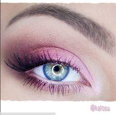 Różowy makijaż katOsu